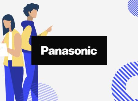 Разработка сайта для Panasonic